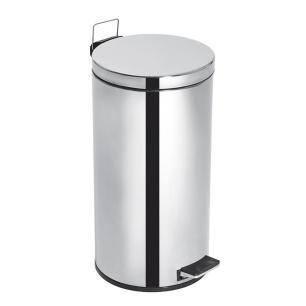 Lixeira Inox 15L Com Pedal Elegance Purimax - 43360