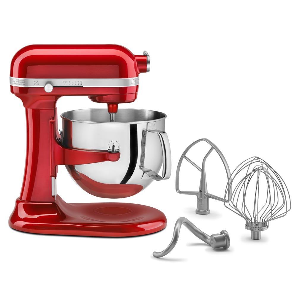 Batedeira Kitchenaid Stand Mixer Profissional Vermelha 220V