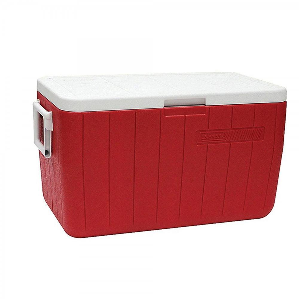 Caixa Térmica 48Qt 45,5L Vermelha Coleman