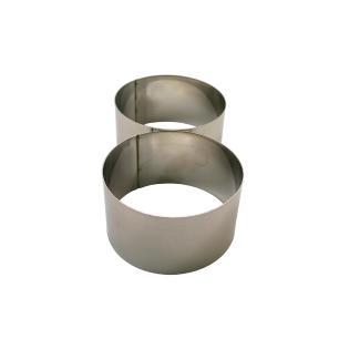 Conjunto De 2 Anéis Cortadores Tala 9X5,5Cm