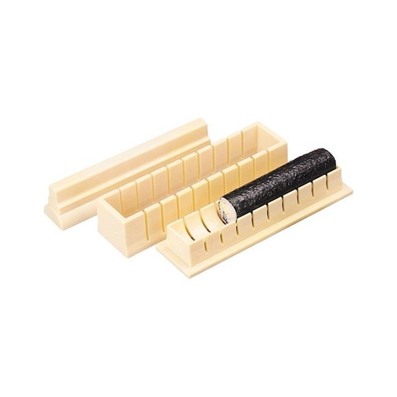 Molde Para Sushi De Plástico Com Receita Ibili - 773800
