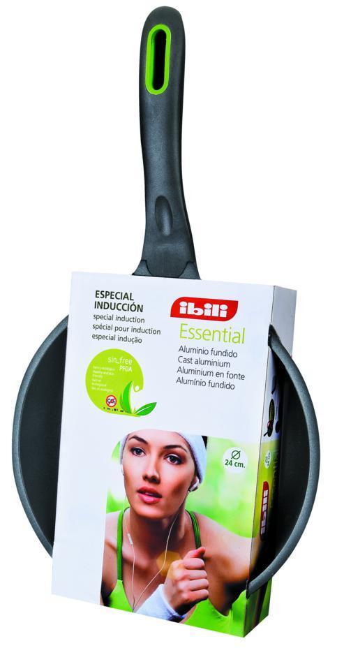 Frigideira 24 Cm Essencial Antiaderente Ecológica Ibili