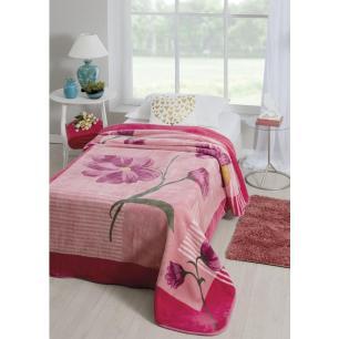 Cobertor Rasc Pol. Estampado 1.50 x 2.20m Anecy