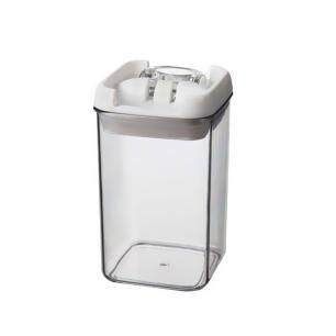 Mini Pote De Acrílico Para Mantimentos Quadrado 400 Ml Bono