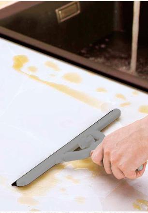 Rodo Para Vidro 26Cm Cinza Basic Kitchen