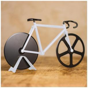 Cortador De Pizza Tipo Bike Branco Basic Kitchen