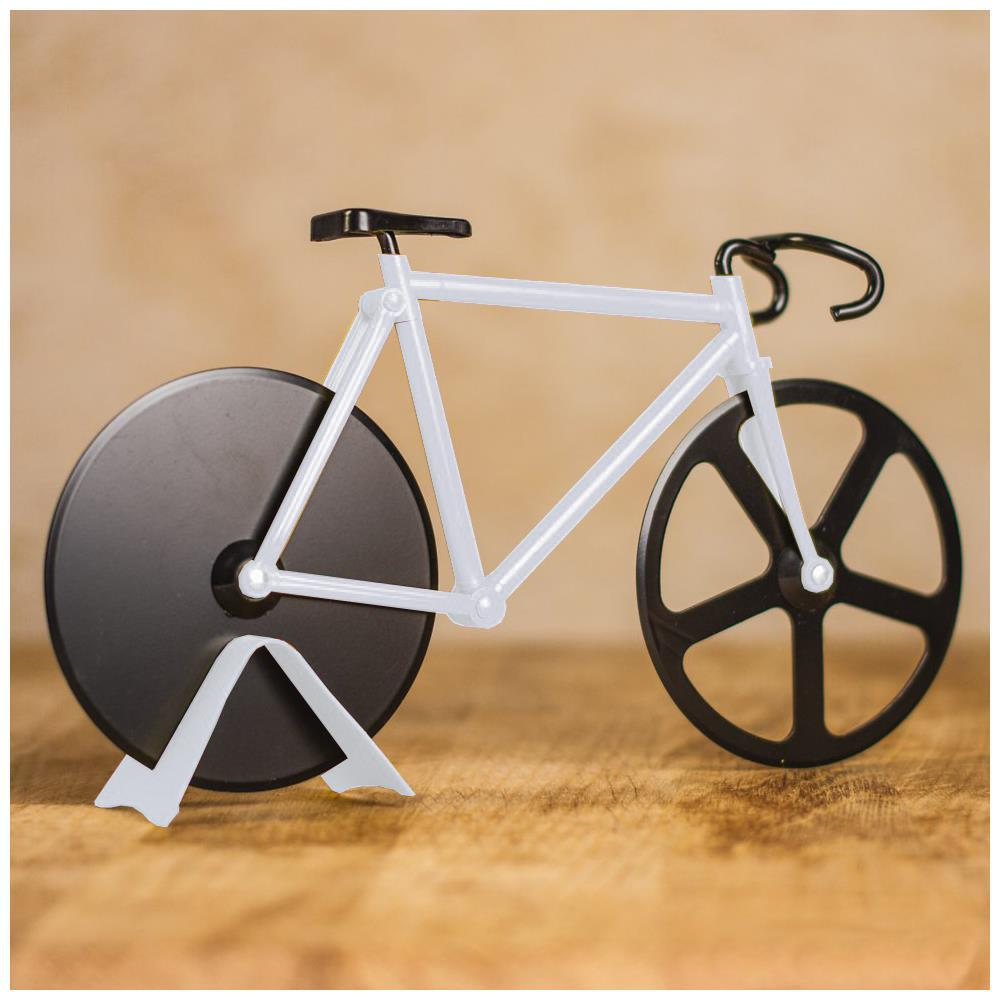 Cortador De Pizza Tipo Bike Branco Basic Kitchen