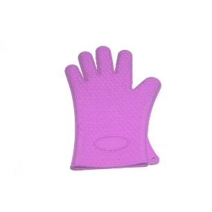 Luva De Silicone 63841 Roxo Basic Kitchen