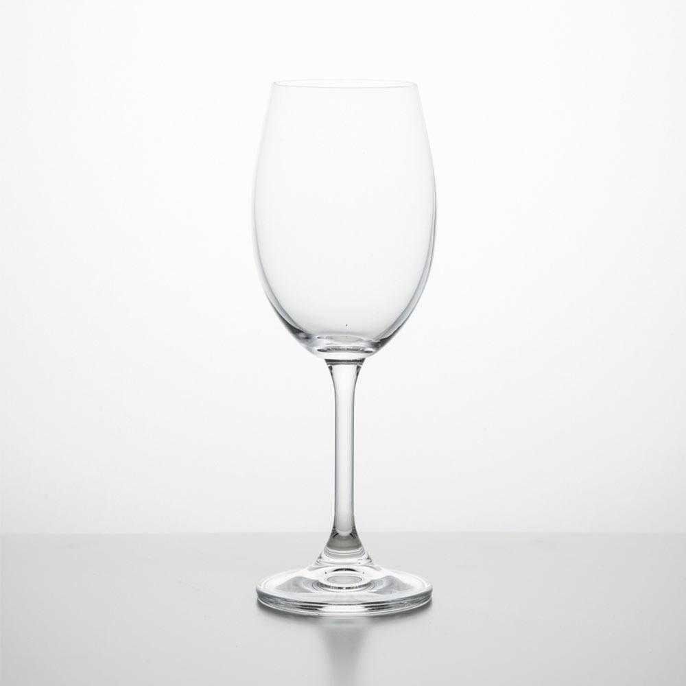 Jogo 6 Taças De Vidro Para Vinho Branco 250Ml Klara Bohemia - 5501