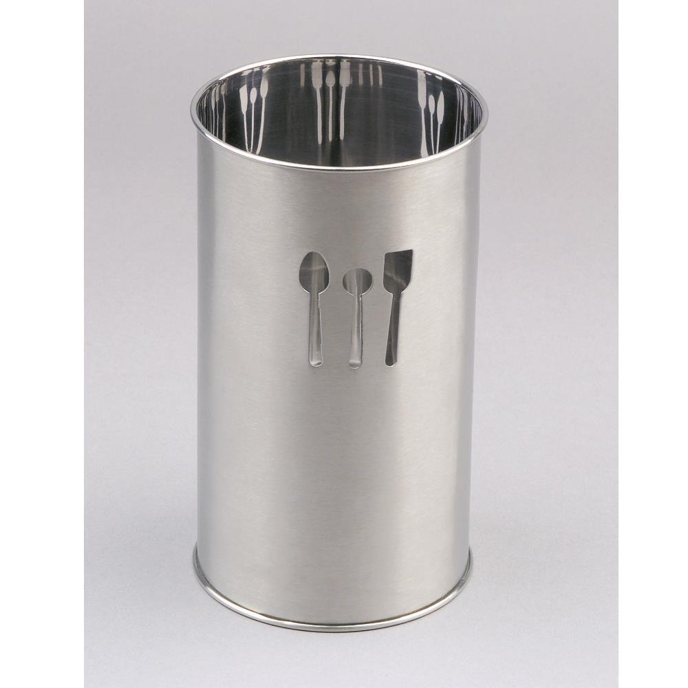 Porta Utensílios Em Inox 10 X 18Cm - 714100