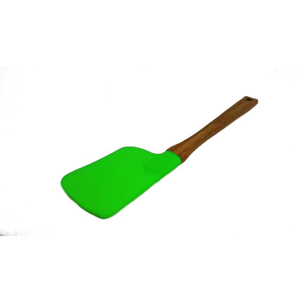 Espátula De Silicone 63801-4 Verde Basic Kitchen