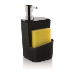 Dispenser Para Detergente 650 Ml Preto Ou