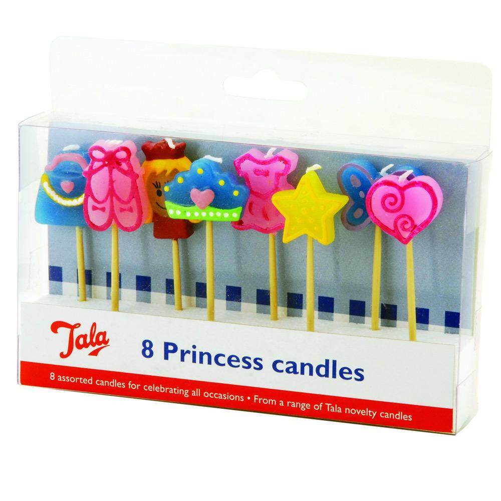 Conjunto Com 8 Velas Princess Tala - 10159