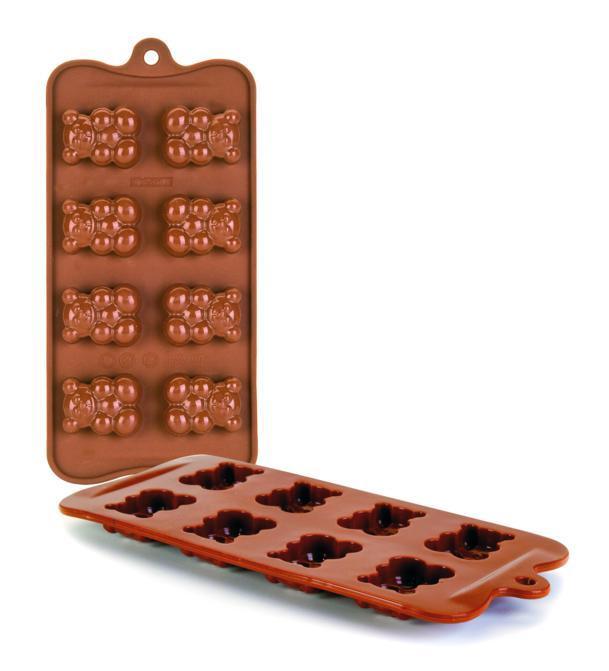 Molde Chocolates Silicone Chocolate Ursinhos Ibili - 860309