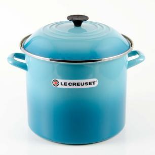 Caldeirão Stock Pot 26Cm Azul Caribe Le Creuset