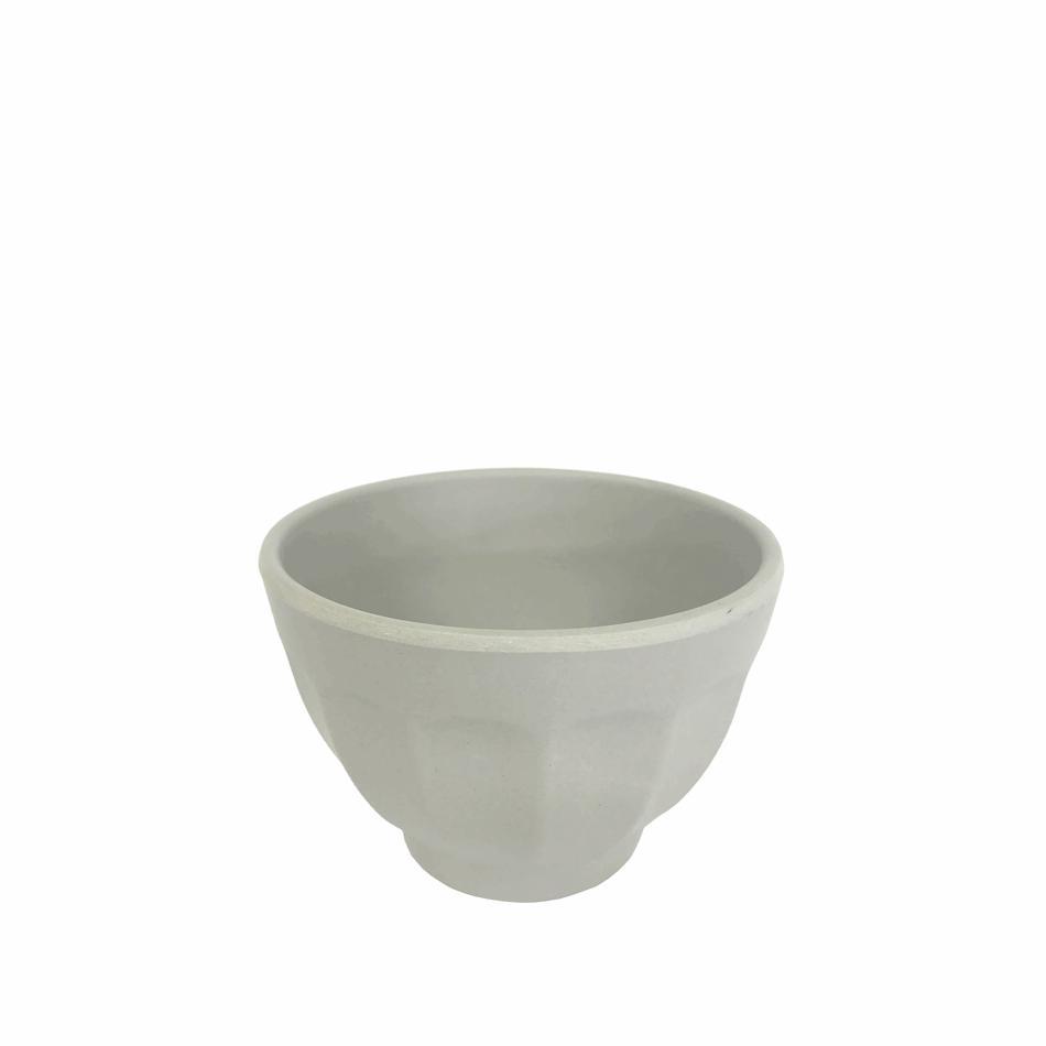 Bowl de Fibra de Bambu Cinza 10cm Benedetto
