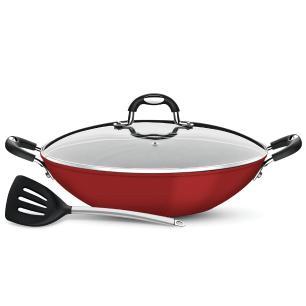 Conjunto Para Espaguete Mônaco Tramontina Vermelho