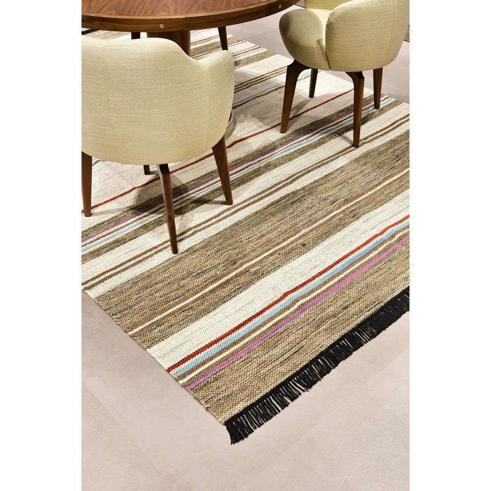 Tapete Indiano Baider Stripe 3.00X4.00 Natural