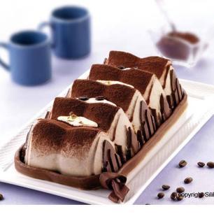 Forma De Silicone Plum Cake Cathedral 30Cm Silikomart - 20.305.63.0063