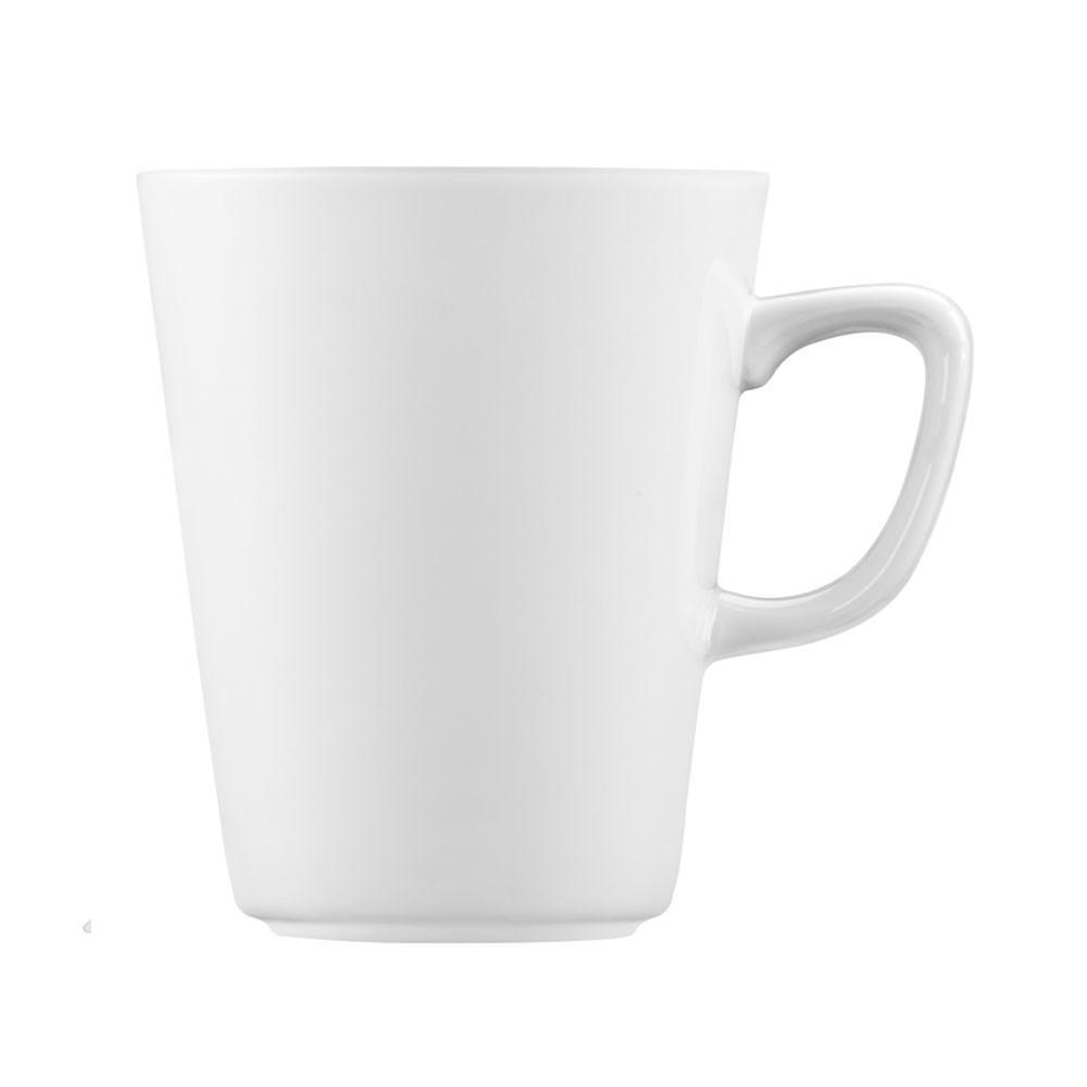 Caneca De Porcelana Brinox Branco