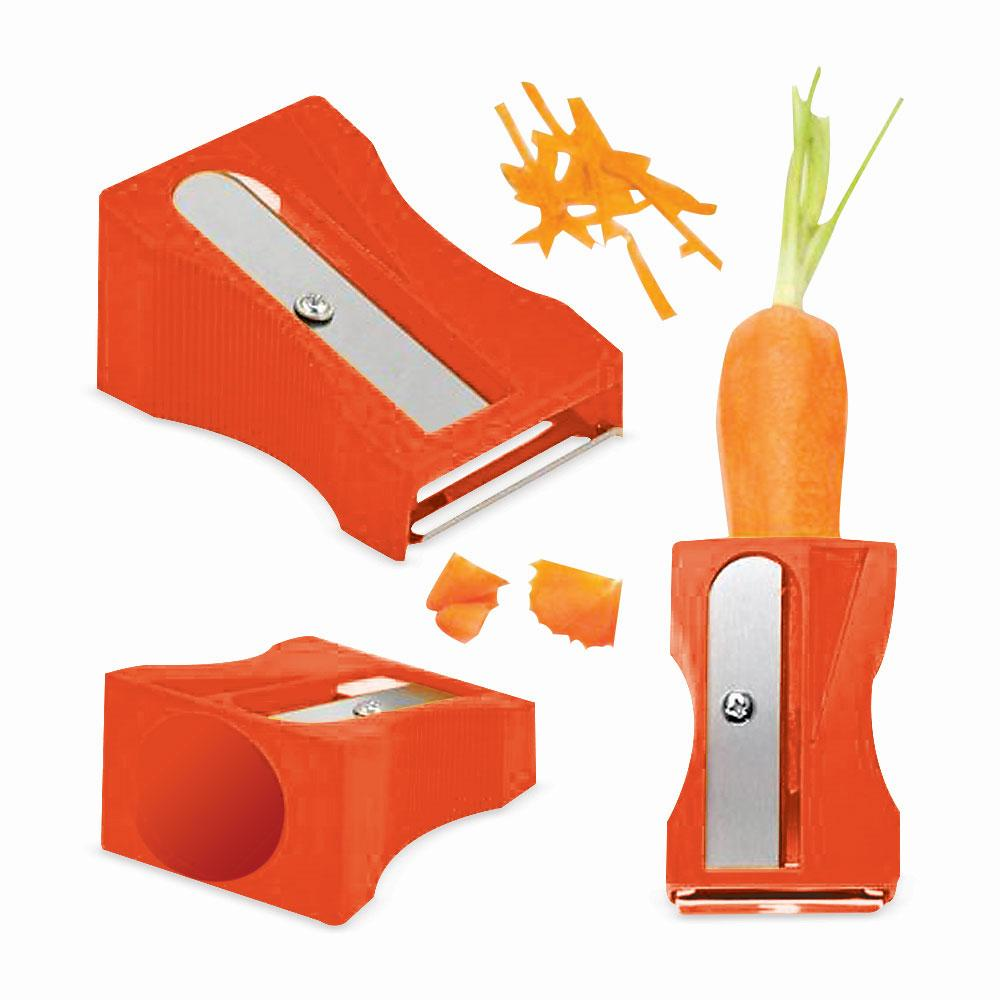 Cortador De Legumes Apontador Laranja Basic Kitchen
