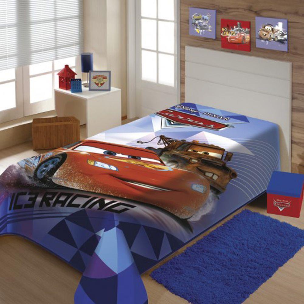 Cobertor Raschel Juvenil Carros 1,50 X 2,00M Jolitex