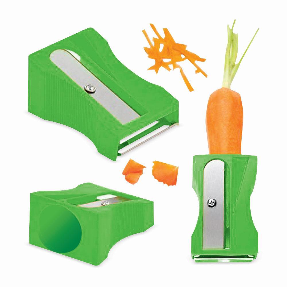 Cortador De Legumes Apontador Verde Basic Kitchen