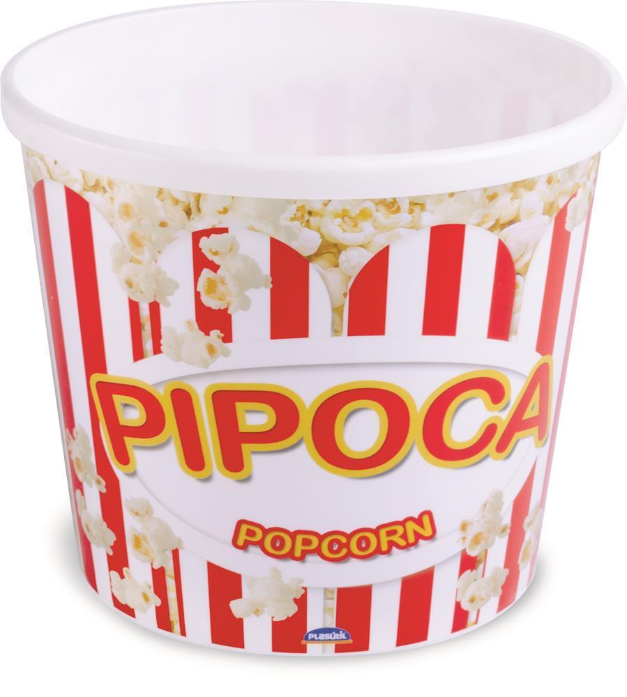 Pote Pipoca 2,1 Litros Plasútil