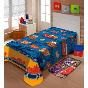 Manta Soft Disney 1.50 x 2.00m Carros 95 Jolitex