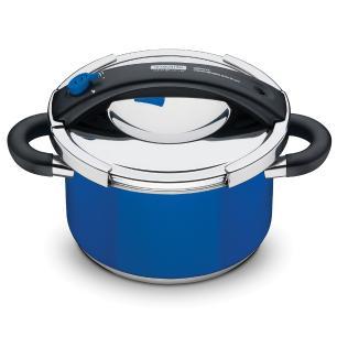 Panela De Pressão Azul Presto 24Cm Tramontina Design Collection