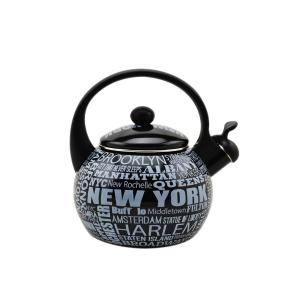 Chaleira Com Apito 2,2L New York Decor & Casa
