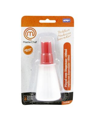 Pincel Com Dispenser 100ml Masterchef Gedex