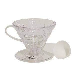 Suporte Para Filtro De Café Hario Mod V60-02 Transparente