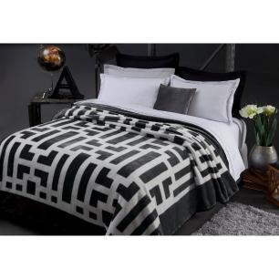 Cobertor Casal Davis Chumbo 1,80 X 2,20 M Corttex