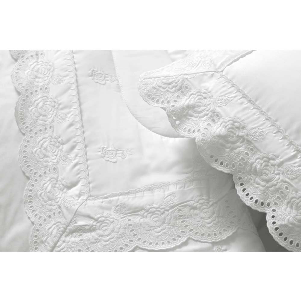 Fronha Avulsa 300f Pallazo Reale Branco 50x70
