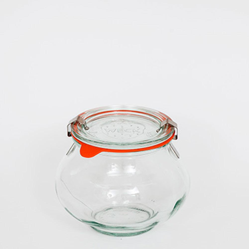 Pote De Vidro Deco 560Ml Weck Jars