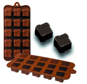 Molde Chocolates Silicone Chocolate Presentes Ibili - 860308