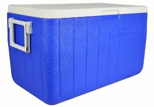 Caixa Térmica 48Qt 45,5L Azul Coleman