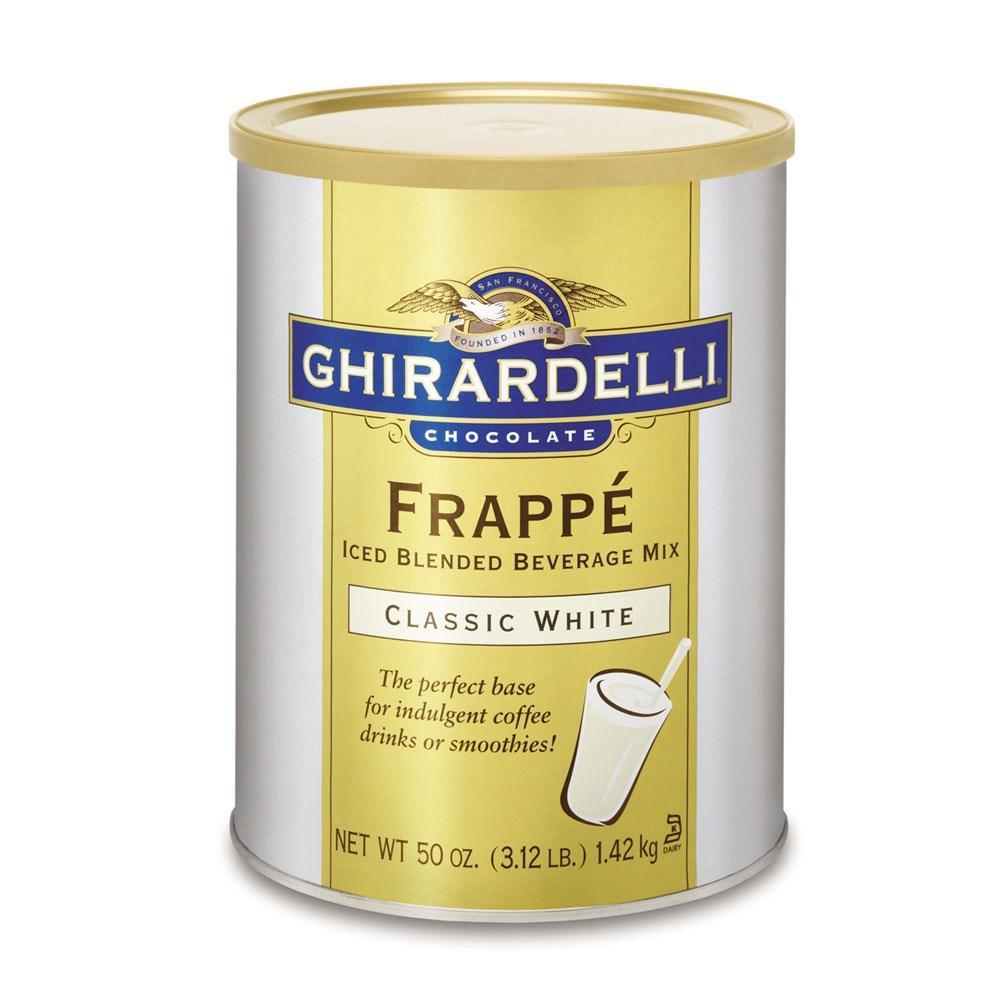 Frappé Chocolate Branco Ghirardelli 1,42Kg