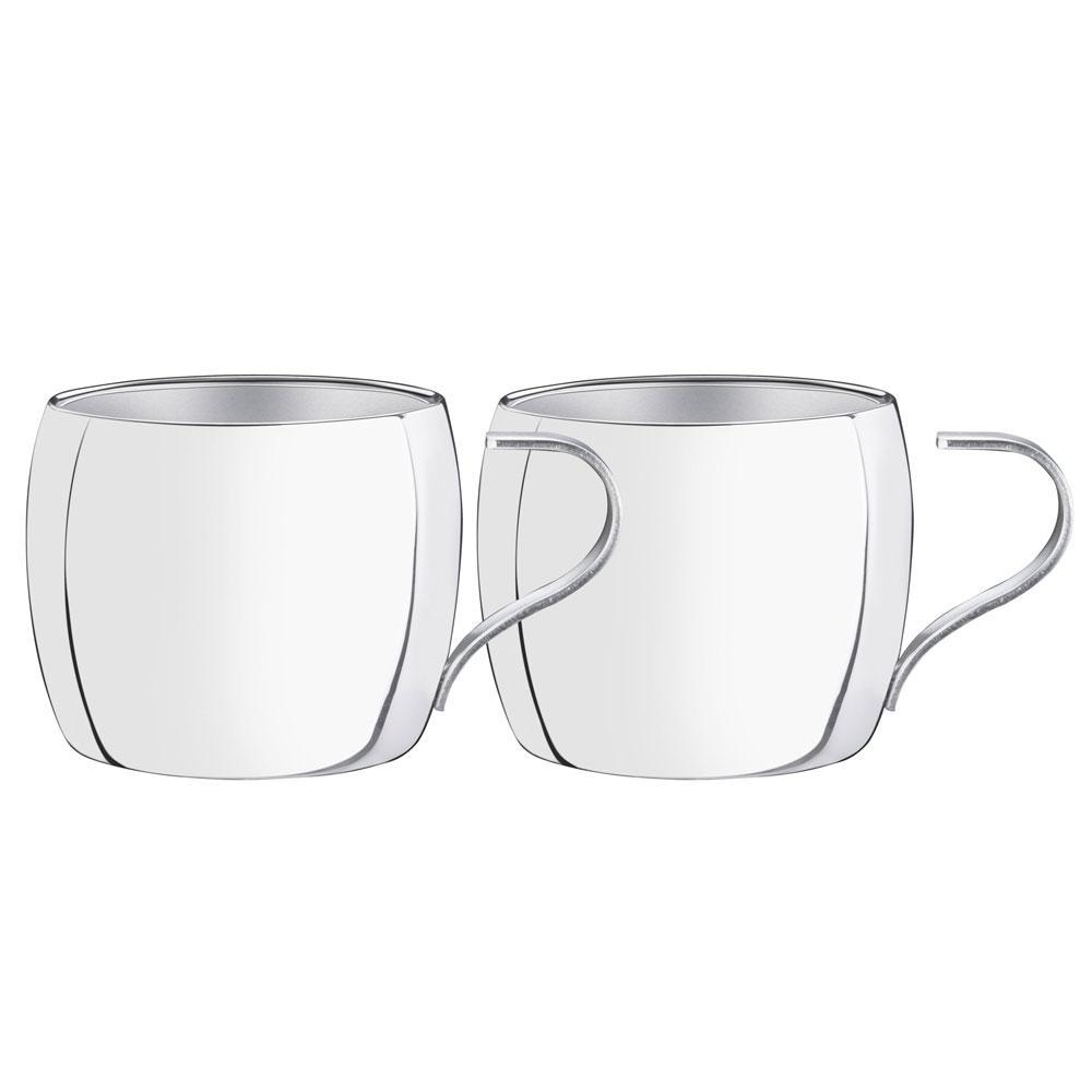 Conjunto De Xícaras Para Café 2 Peças Tramontina - 64430780
