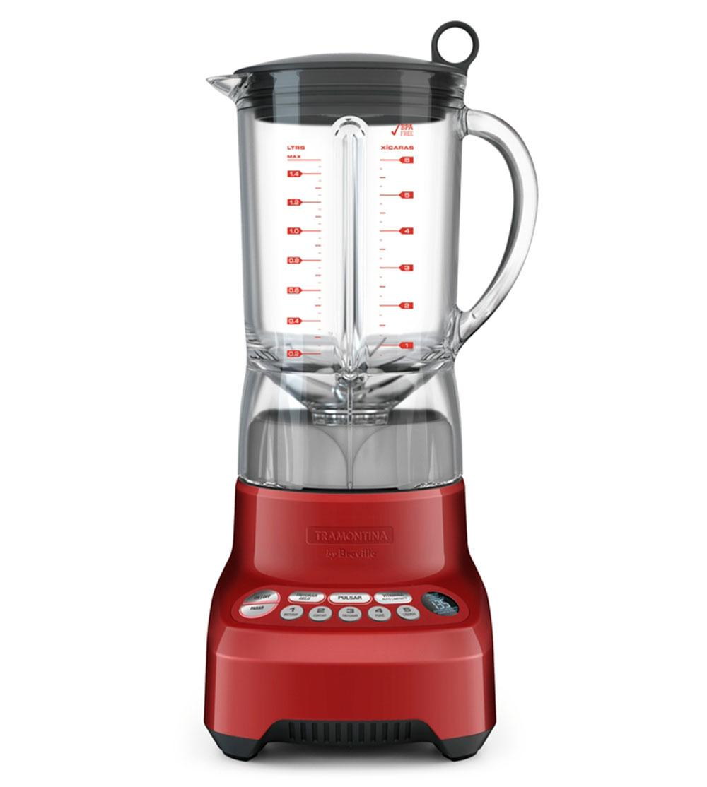 Liquidificador Smart Gourmet 220V Vermelho Tramontina By Breville - 69005/022