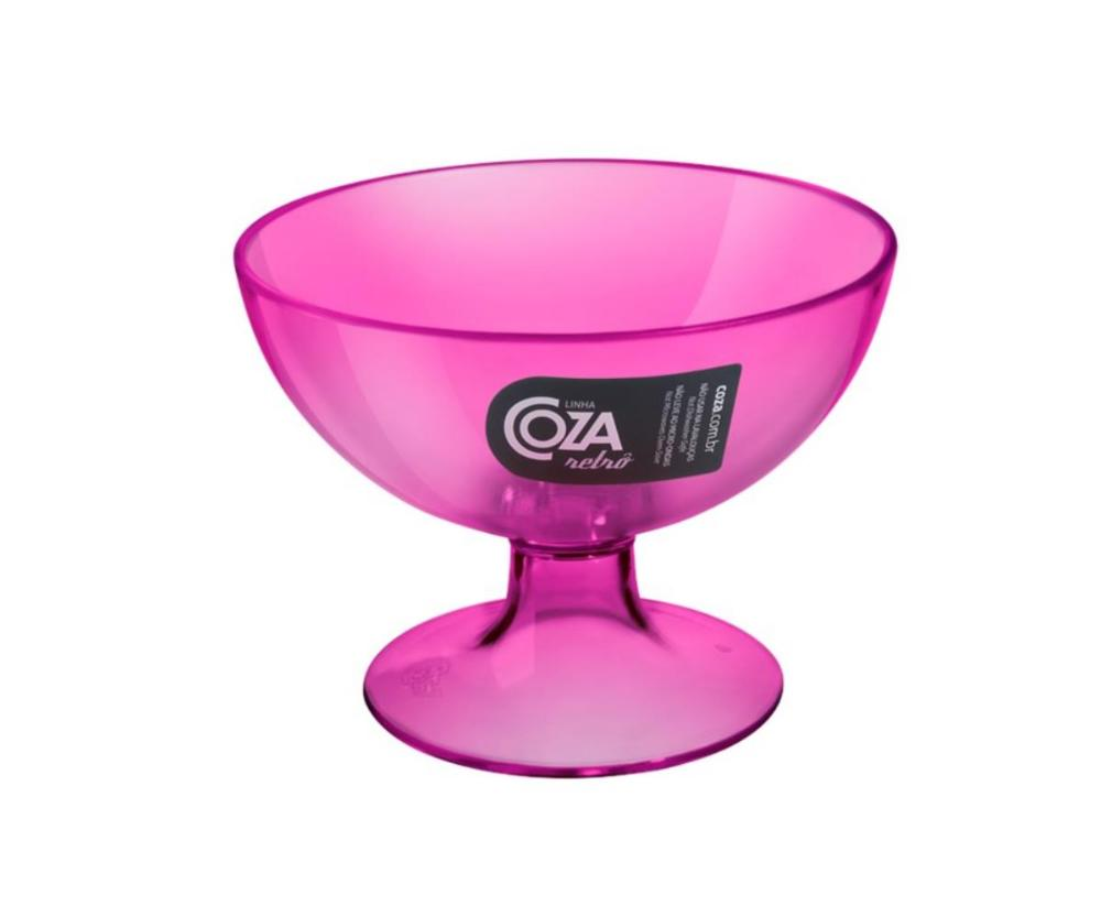 Taça 150 Ml 10,5 X 10,5 X 8 Cm Rosa Coza