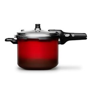 Panela De Pressão Brinox Pressure 6L Vermelha