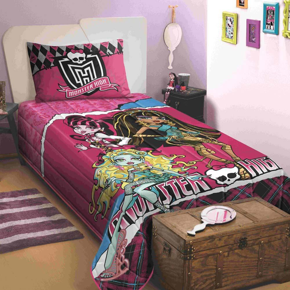 Colcha Matelada Monster High Lepper 150 X 210 Cm