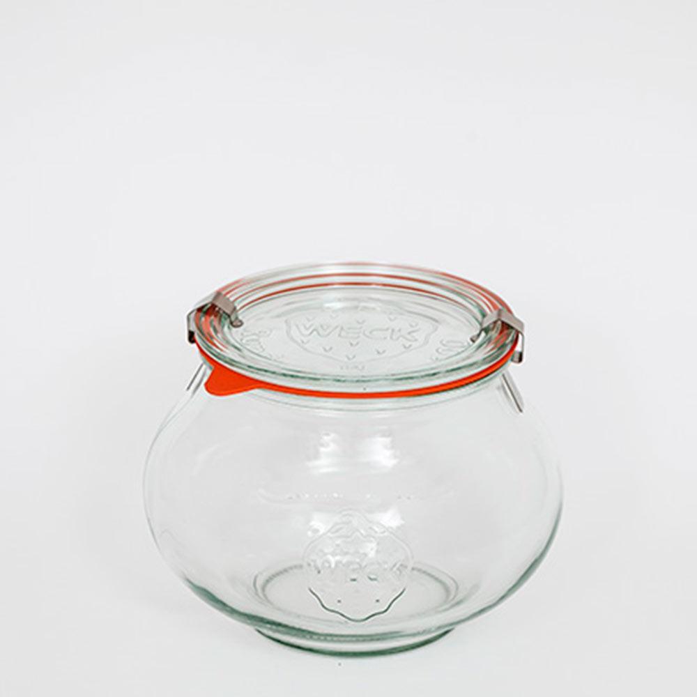 Pote De Vidro Deco 1062L Weck Jars