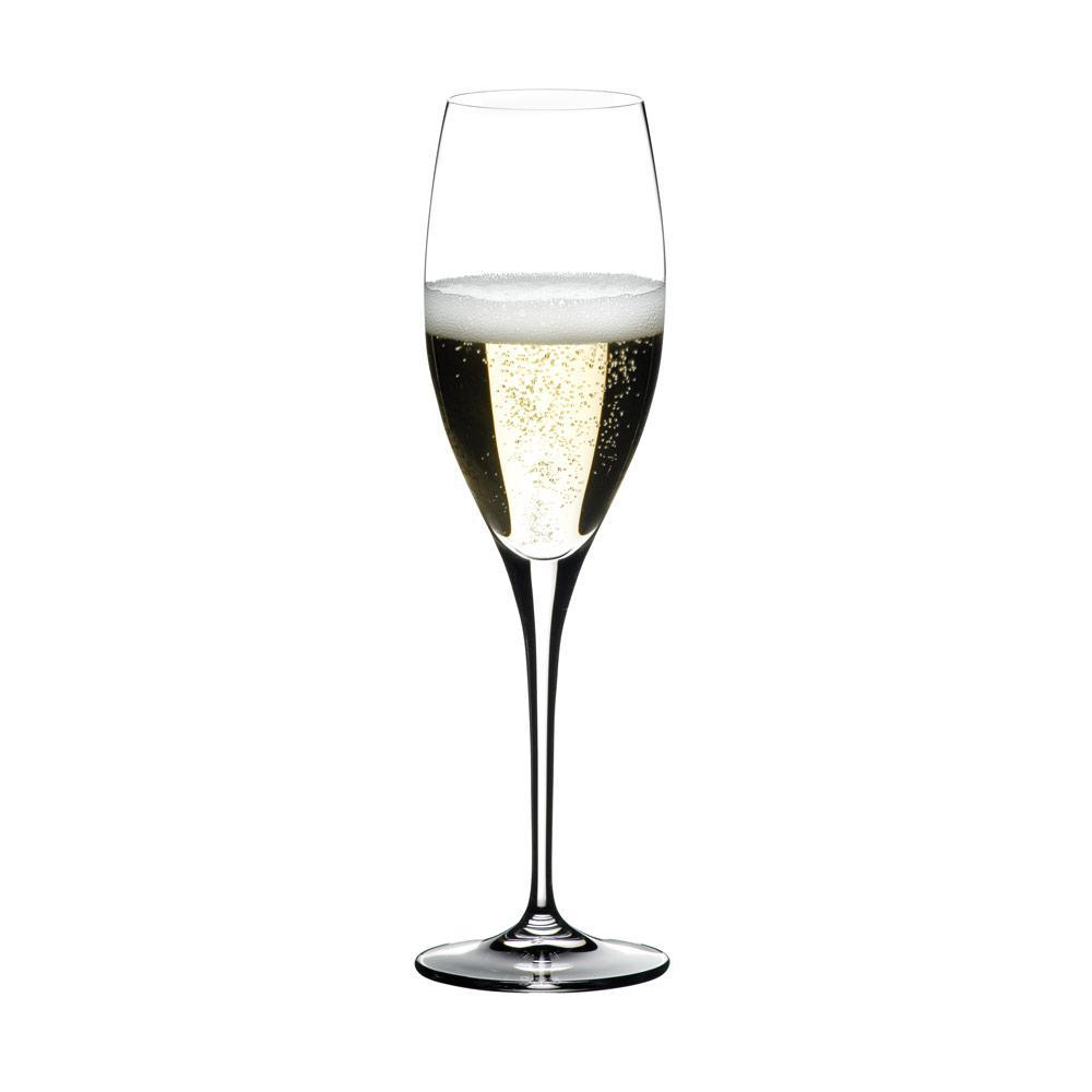 Conjunto Com 2 Taças Riedel Para Champagne Glass Heart To Heart - 6409/08