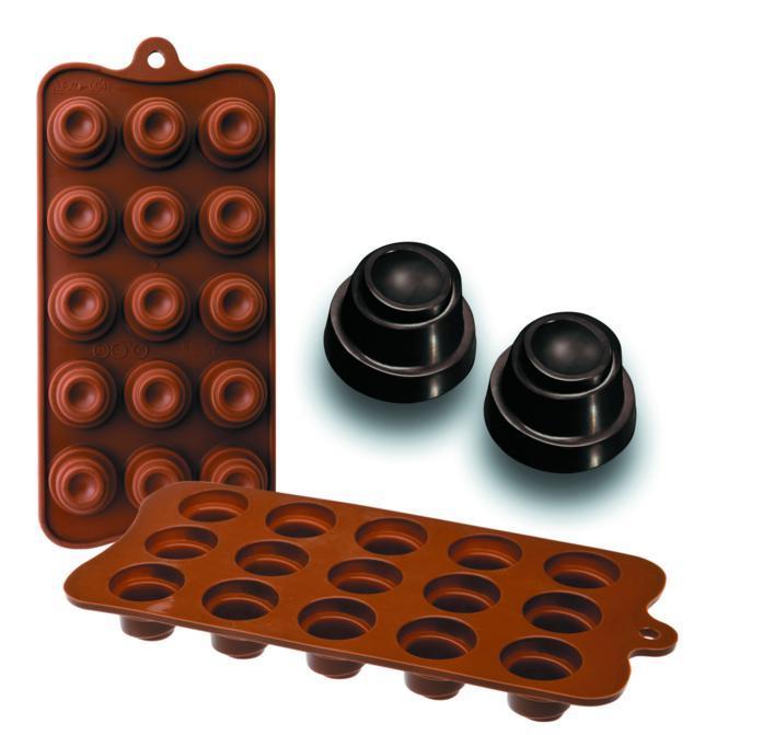 Molde Silicone Chocolates Delice Ibili - 860304