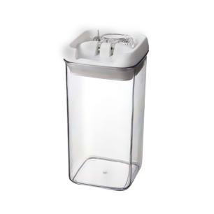 Mini Pote De Acrílico Para Mantimentos Quadrado 500 Ml Bono
