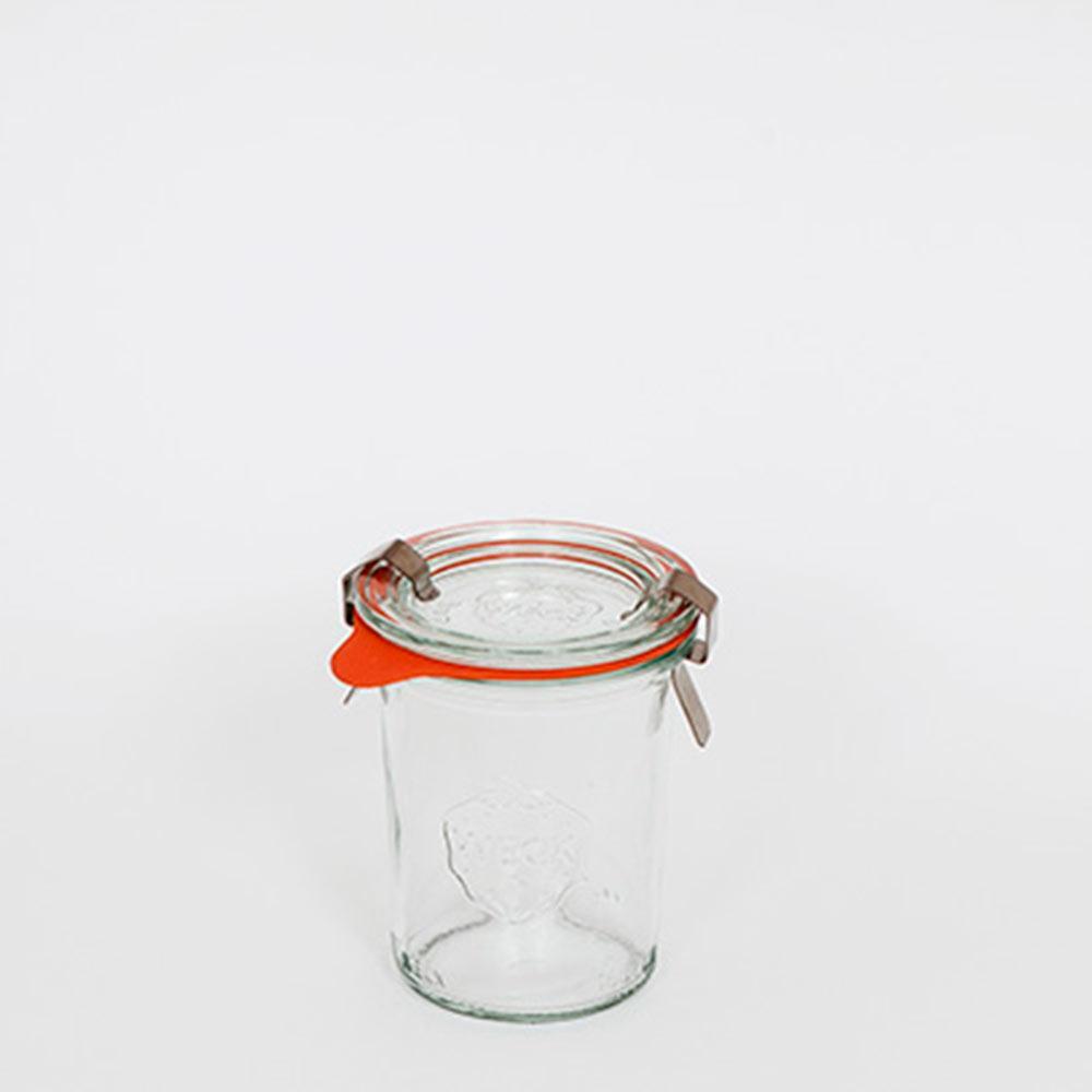 Pote De Vidro Mold Mini Alto 160Ml Weck Jars