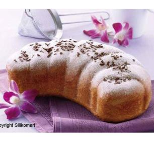 Forma De Silicone Croissant Silikomart - 20.327.76.0063